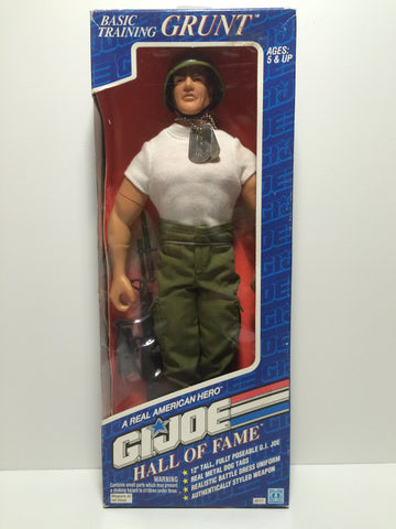 (TAS030052) - 1992 Hasbro G.I. Joe Hall of Fame Basic Training Grunt, , Dolls, G.I. Joe, The Angry Spider Vintage Toys & Collectibles Store  - 1