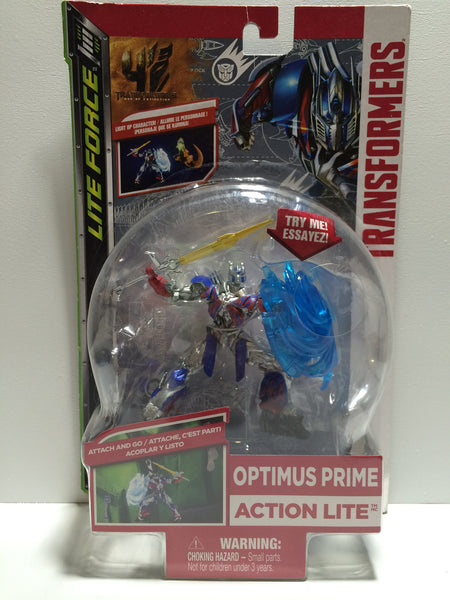 (TAS030084) - Transformers Lite Force Optimus Prime Action Lite, , Action Figure, Transformers, The Angry Spider Vintage Toys & Collectibles Store  - 1
