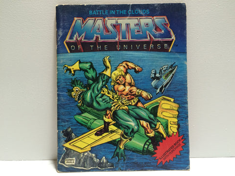 (TAS030085) - 1982 Masters Of The Universe Battle In The Clouds Illustrated Book, , Books, MOTU, The Angry Spider Vintage Toys & Collectibles Store  - 1