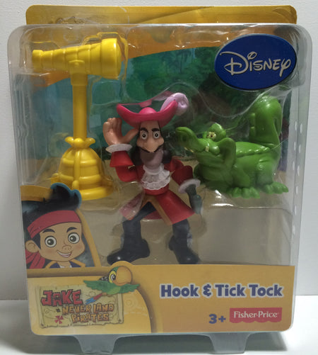 (TAS030109) - 2012 Disney Jake And The NeverLand Pirates - Hook & Tick Tock, , Action Figure, Disney, The Angry Spider Vintage Toys & Collectibles Store  - 1