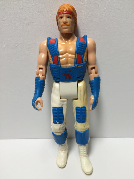 (TAS030201) - 1986 Ruby-Spears Chuck Norris Ninja Action Figure Vintage, , Action Figure, n/a, The Angry Spider Vintage Toys & Collectibles Store  - 1