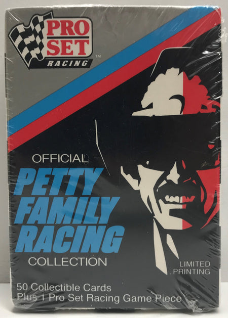 TAS039765 - 1990 Pro Set Racing Nascar Official Petty Family Racing Collectible