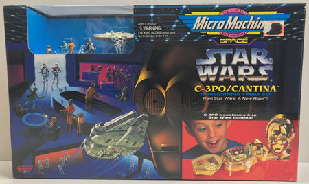 TAS039795 - 1994 Galoob Micro Machines Space Star Wars C-3PO / Cantina
