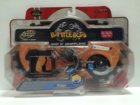 (TAS030364) - 2001 Road Champs BattleBots Grip N' Grapplers - Ziggo, , Other, n/a, The Angry Spider Vintage Toys & Collectibles Store  - 1