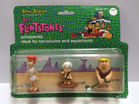 (TAS030366) - Hanna Barbera The Flintstones Ornaments for Terrariums / Aquariums, , Action Figure, Flintstones, The Angry Spider Vintage Toys & Collectibles Store  - 1