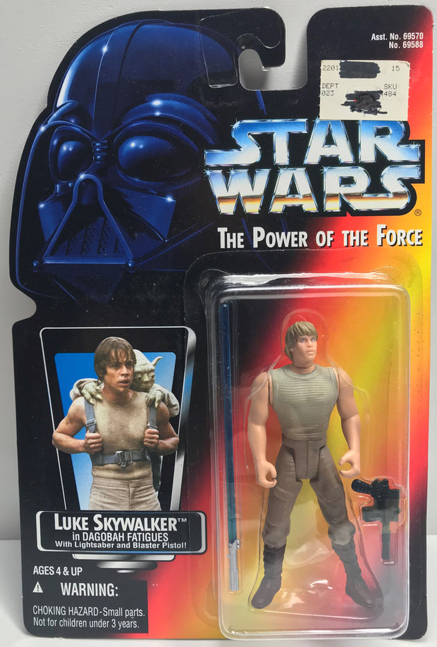 TAS038412 - 1995 Kenner Star Wars The Power Of The Force Luke Skywalker
