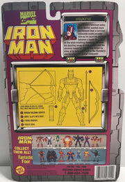 TAS039928 - 1995 Toy Biz Marvel Iron Man Action Figure - Hawkeye