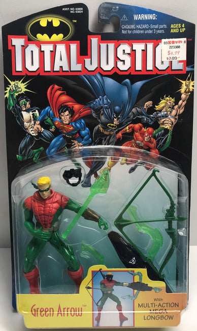TAS039999 - 1997 Kenner DC Comics Total Justice League - Green Arrow