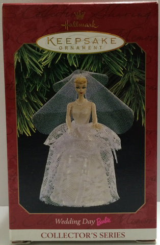 (TAS030442) - 1997 Hallmark Keepsake Ornament - Wedding Day Barbie, , Ornament, Disney, The Angry Spider Vintage Toys & Collectibles Store  - 1