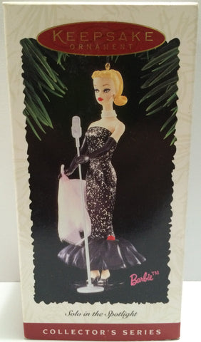 (TAS030444) - 1995 Hallmark Keepsake Ornament - Barbie Solo in the Spotlight, , Ornament, Disney, The Angry Spider Vintage Toys & Collectibles Store  - 1