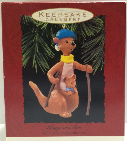 (TAS030447) - Hallmark Keepsake Ornament - Kanga and Roo - Winnie The Pooh, , Ornament, Disney, The Angry Spider Vintage Toys & Collectibles Store  - 1