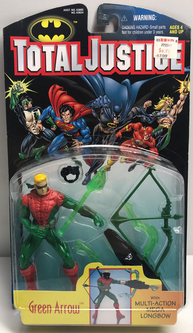 TAS040013 - 1997 Kenner DC Comics Batman Total Justice League - Green Arrow