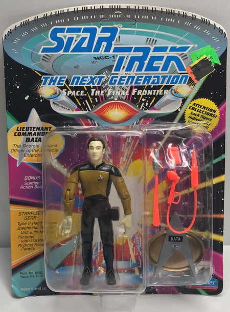 TAS040023 - 1992 Playmates Toys Star Trek The Next Generation - Data