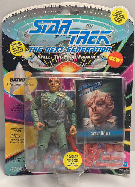 TAS040024 - 1993 Playmates Toys Star Trek The Next Generation - Captain Dathon