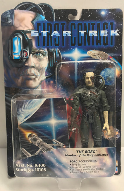 TAS040030 - 1996 Playmates Toys Star Trek First Contact Action Figure - The Borg
