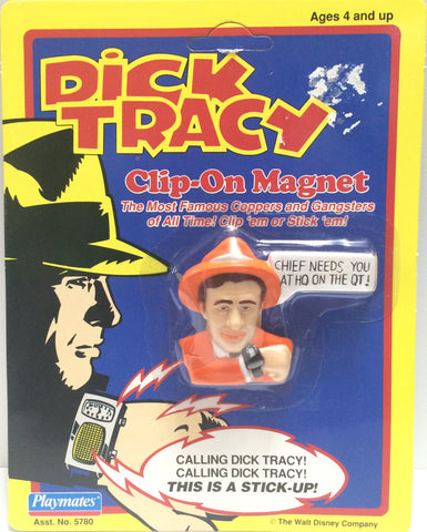 (TAS030561) - 1990 Playmates / Disney Dick Tracy Clip-On Magnet - Sam Catchem, , Magnet, Disney, The Angry Spider Vintage Toys & Collectibles Store  - 1