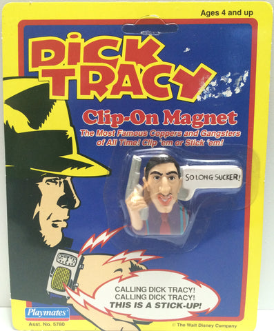 "(TAS030560) - 1990 Playmates / Disney Dick Tracy Clip-On Magnet - Al ""Big Boy"" C, , Magnet, Disney, The Angry Spider Vintage Toys & Collectibles Store  - 1"