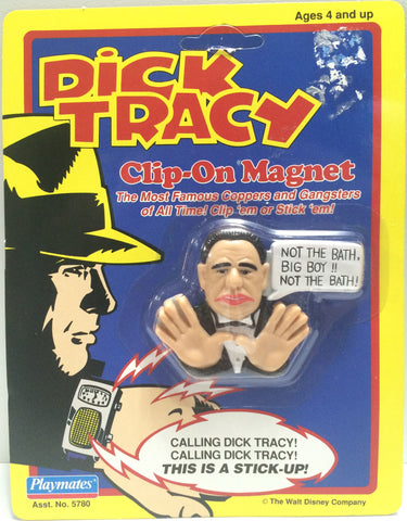 (TAS030559) - 1990 Playmates / Disney Dick Tracy Clip-On Magnet - Lips Manlis, , Magnet, Disney, The Angry Spider Vintage Toys & Collectibles Store  - 1
