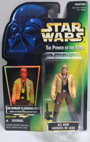 TAS038436 - 1996 Kenner Star Wars The Power Of The Force Luke Skywalker