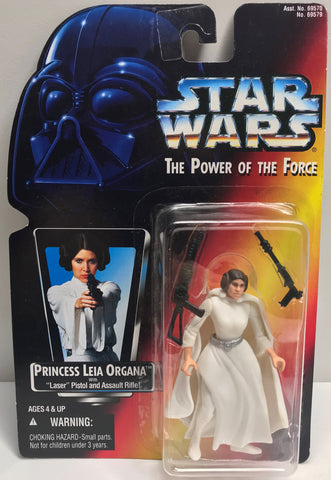 TAS038437 - 1995 Kenner Star Wars The Power Of The Force Princess Leia Organa