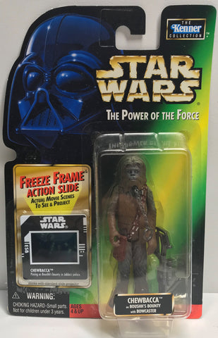 TAS038438 - 1998 Kenner Star Wars The Power Of The Force Chewbacca