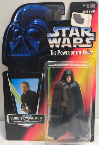 TAS038439 - 1996 Kenner Star Wars The Power Of The Force Luke Skywalker