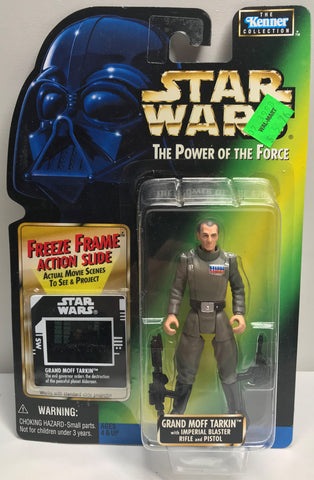 TAS038440 - 1997 Kenner Star Wars The Power Of The Force Grand Moff Tarkin