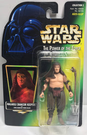 TAS038441 - 1997 Kenner Star Wars The Power Of The Force Malakili