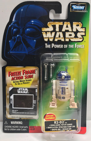 TAS038442 - 1997 Kenner Star Wars The Power Of The Force R2-D2