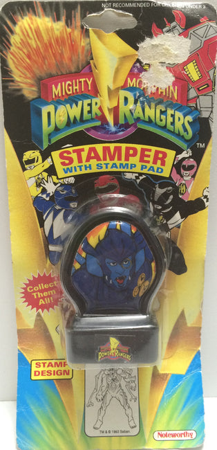 (TAS030562) - 1993 Mighty Morphin Power Rangers Stamper - Baboo, , Stampers, Power Rangers, The Angry Spider Vintage Toys & Collectibles Store  - 1