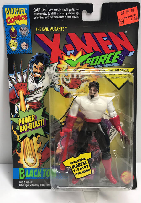 TAS040165 - 1994 Toy Biz Marvel X-Men X-Force - Black Tom