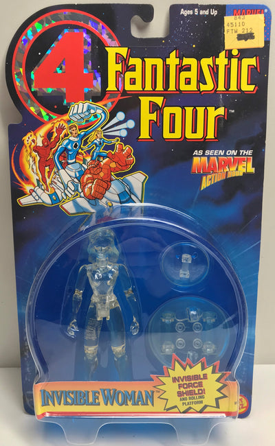 TAS040190 - 1995 Toy Biz Marvel Fantastic Four - Invisible Woman Action Figure