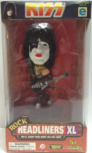 (TAS030596) - 1999 Rock Headliners XL - Kiss - Paul Stanley, , Action Figure, Headliners, The Angry Spider Vintage Toys & Collectibles Store  - 1