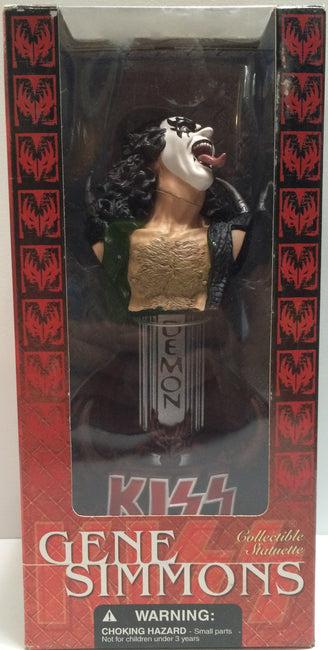(TAS030595) - 2002 McFarlane Toys - Kiss Collectible Statuettes - Gene Simmons, , Action Figure, McFarlane, The Angry Spider Vintage Toys & Collectibles Store  - 1