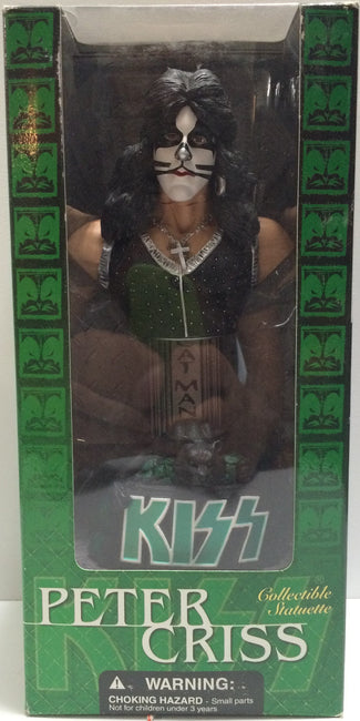 (TAS030593) - 2002 McFarlane Toys - Kiss Collectible Statuettes - Peter Criss, , Action Figure, McFarlane, The Angry Spider Vintage Toys & Collectibles Store  - 1
