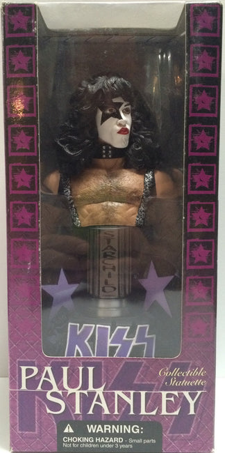 (TAS030592) - 2002 McFarlane Toys - Kiss Collectible Statuettes - Paul Stanley, , Action Figure, McFarlane, The Angry Spider Vintage Toys & Collectibles Store  - 1