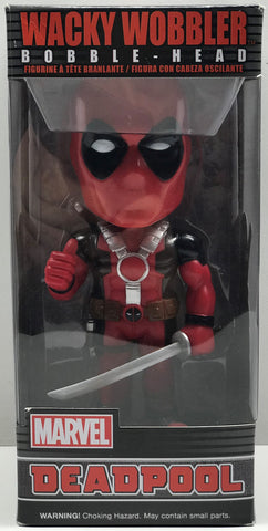 TAS038453 - 2016 Funko Wacky Wobbler Bobble-Head Marvel Deadpool