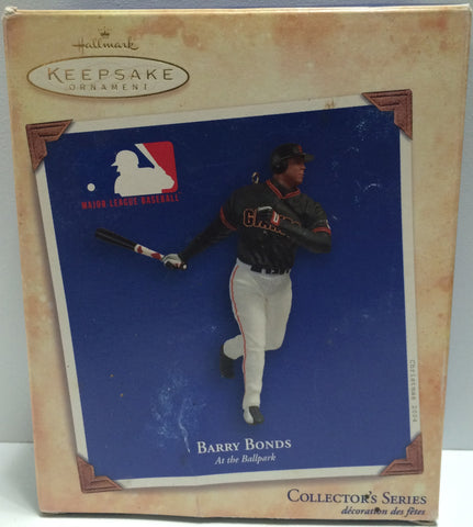 (TAS030588) - 2004 Hallmark Keepsake Ornament - Barry Bonds At The Ballpark, , Ornament, MLB, The Angry Spider Vintage Toys & Collectibles Store  - 1
