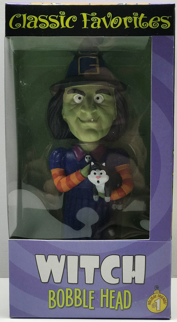 TAS038454 - Vintage Classic Favorites Halloween Witch Bobble Head