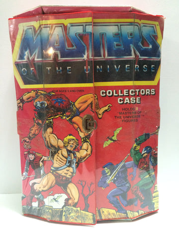 (TAS030601) - 1984 Mattel Masters of the Universe Collectors Case (He-Man), , Action Figure, MOTU, The Angry Spider Vintage Toys & Collectibles Store  - 1