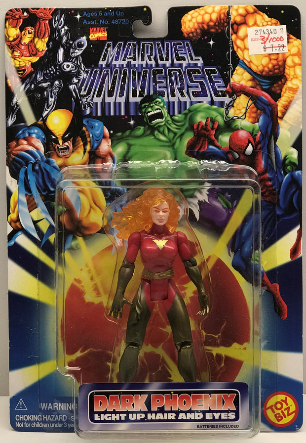 TAS038456 - 1996 Toy Biz Marvel Universe Dark Phoenix Light Up Figure