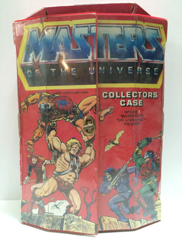 (TAS030602) - 1984 Mattel He-Man Masters of the Universe Collectors Case, , Action Figure, MOTU, The Angry Spider Vintage Toys & Collectibles Store  - 1