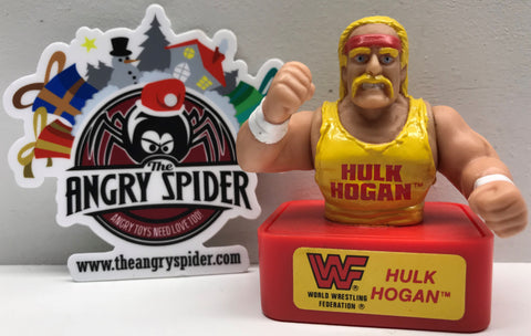 TAS038462 - 1991 Titan Sports WWF WWE Ink Stamper - Hulk Hogan