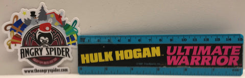 TAS038468 - 1991 Titan Sports WWF WWE Ruler Hulk Hogan Ultimate Warrior