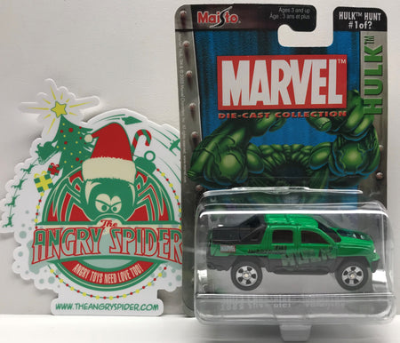 TAS039664 - 2003 Maisto Marvel Die-Cast Collection The Incredible Hulk Hunt 1