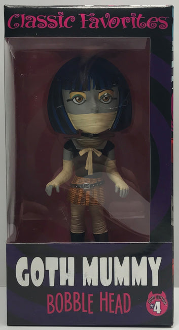 TAS039890 - Entertainment Earth Classic Favorites Bobble Head - Goth Mummy