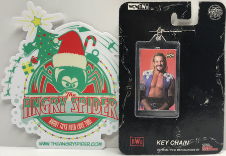 TAS039893 - 1999 Racing Champions WCW Wrestling Keychain Diamond Dallas Page