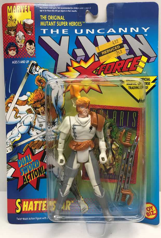 TAS039217 - 1992 Toy Biz X-Men X-Force Dual Sword Figure - Shatterstar