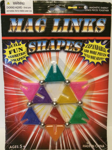 (TAS031181) - Mag Links Expandable Shapes - Magnetic Energy Pieces, , Magnets, n/a, The Angry Spider Vintage Toys & Collectibles Store  - 1