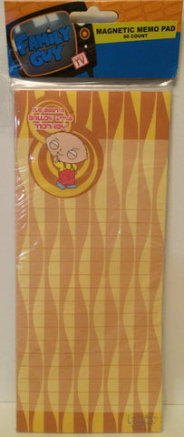 (TAS031184) - Family Guy Magnetic Memo Pad, , Magnets, Family Guy, The Angry Spider Vintage Toys & Collectibles Store  - 1